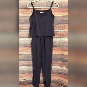 Lou & Grey lounge cropped romper jumpsuit